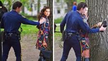 """Cristiano Ronaldo: ¿Por qué Irina Shayk fue """"detenida"""" por la policía?"""