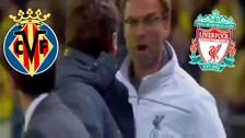 YouTube: Jurgen Kloop abrazó y besó al técnico del Villarreal