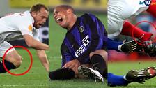 Ronaldo, Krohn Dehli y las lesiones más impactantes en imágenes