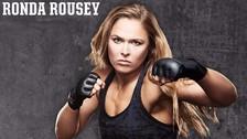 UFC: Ronda Rousey realizó exigente entrenamiento entre las olas