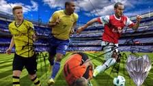 Facebook: 10 jugadores de 'cristal' en el mundo fútbol
