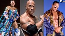 WWE: el asombroso antes y después de 'La Roca'
