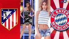 Bayern Munich vs. Atlético Madrid: las esposas de los equipos