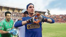 Alianza Lima: el día que Gianluigi Buffon le regaló su camiseta a George Forsyth