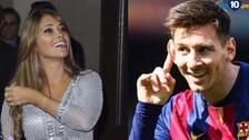 Barcelona: Antonella Roccuzzo mandó un tierno mensaje a Lionel Messi