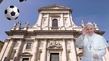 Gonzalo Higuaín fue homenajeado durante una misa en Italia