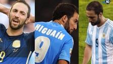 Gonzalo Higuaín, el goleador que falló los tres goles más importantes de su vida