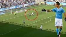 VIDEO: Guillermo Molins marcó un impresionante gol de taco con el Malmö