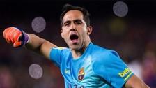 Barcelona vs. Sevilla: Claudio Bravo se recuperó para la final de la Copa del Rey