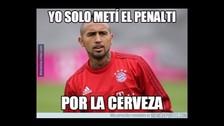Bayern Munich vs. Borussia Dortmund: Arturo Vidal es víctima de los memes