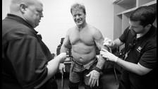 WWE: así quedó Chris Jericho luego del enfrentamiento ante Dean Ambrose