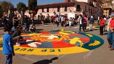 Cientos de cajamarquinos se concentran en Plaza Mayor por Corpus Christi