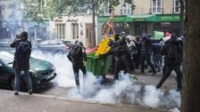 Francia se vuelve un campo de batalla por violentas protestas