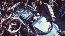 Real Madrid vs. Atlético de Madrid: Ronaldinho llegó en lujoso Lamborghini