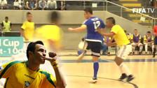 YouTube: Falcao brilló con estas genialidades en Colombia en partido de Futsal