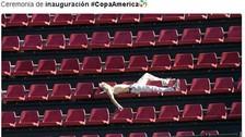 A través de memes, los cibernautas criticaron el show de apertura de la Copa América Centenario.