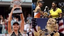 María Sharapova suspendida por doping: repasa las mejores imágenes de su carrera