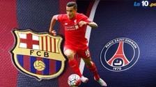 Barcelona y PSG se pelean por el brasileño Philippe Coutinho