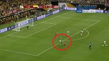 Colombia vs. Costa Rica: Johan Venegas convirtió un golazo en la Copa América