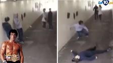 YouTube: boxeador dejó inconsciente a dos que molestaron a su novia en la calle