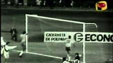 Gol de Casaretto con el que Perú remató a Brasil en la Copa América de 1975