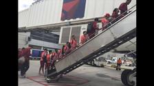 La llegada de Perú al estado de New Jersey.