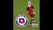 La goleada 7-0 de Chile sobre México generó estos memes.
