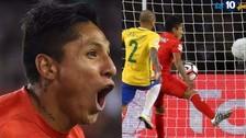 Así fue el relato brasileño del gol de Raúl Ruidíaz ante Brasil