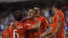 Chile es finalista de la Copa América tras vencer 2-0 a Colombia