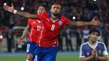 Argentina vs Chile: el mensaje de Arturo Vidal a Diego Maradona