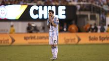 La tristeza de Argentina y la algarabía de Chile tras la final de la Copa América Centenario.