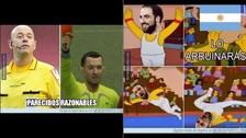 Argentina vs. Chile: Higuaín y el árbitro Heber López son protagonistas de los memes