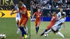 Argentina vs. Chile: Marcelo Díaz y Marcos Rojos fueron expulsados de la final