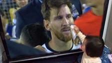 Messi: el viral de la niña que secó sus lágrimas tras perder ante Chile