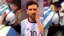 Chile campeón Copa América: el llanto de un Messi y el consuelo de su hijo