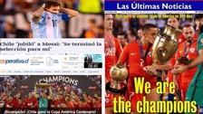 Chile campeón de la Copa América: las mejores portadas de los medios chilenos
