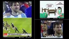 Messi renunció a la Selección Argentina: los nuevos memes del adiós de 'La Pulga'