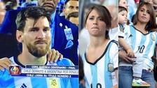 Messi: los conmovedores mensajes de apoyo de Antonella Roccuzzo