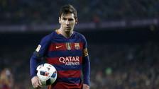 Lionel Messi y su impresionante récord en el 2016