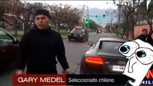 VIDEO. Gary Medel se enfrentó a un periodista porque no lo dejaba tranquilo