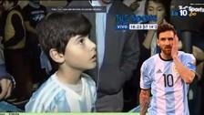 Messi: la conmovedora carta de un niño para que no se retire de la Selección