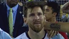 Hincha argentino ganó la lotería gracias a lágrimas de Lionel Messi