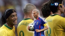 A 10 años del 'baile' de Zinedine Zidane al Brasil de Ronaldinho, Kaká y Ronaldo
