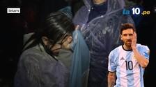Lionel Messi: niña llora pidiendo que regrese a la Selección Argentina