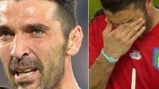 Gianluigi Buffon y su conmovedor llanto al ser eliminado de la Eurocopa
