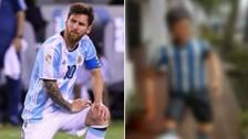 Lionel Messi y el horrible homenaje que le hicieron en Argentina