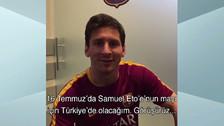 Lionel Messi jugará en partido benéfico de Samuel Eto'o