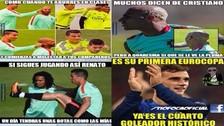 Francia vs. Portugal: Cristiano Ronaldo y Griezmann protagonizan los memes