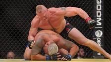 Brock Lesnar tuvo un regreso triunfal en la UFC 200 [FOTOS]