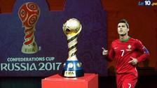 Copa Confederaciones: Portugal, Chile y los países clasificados hasta el momento